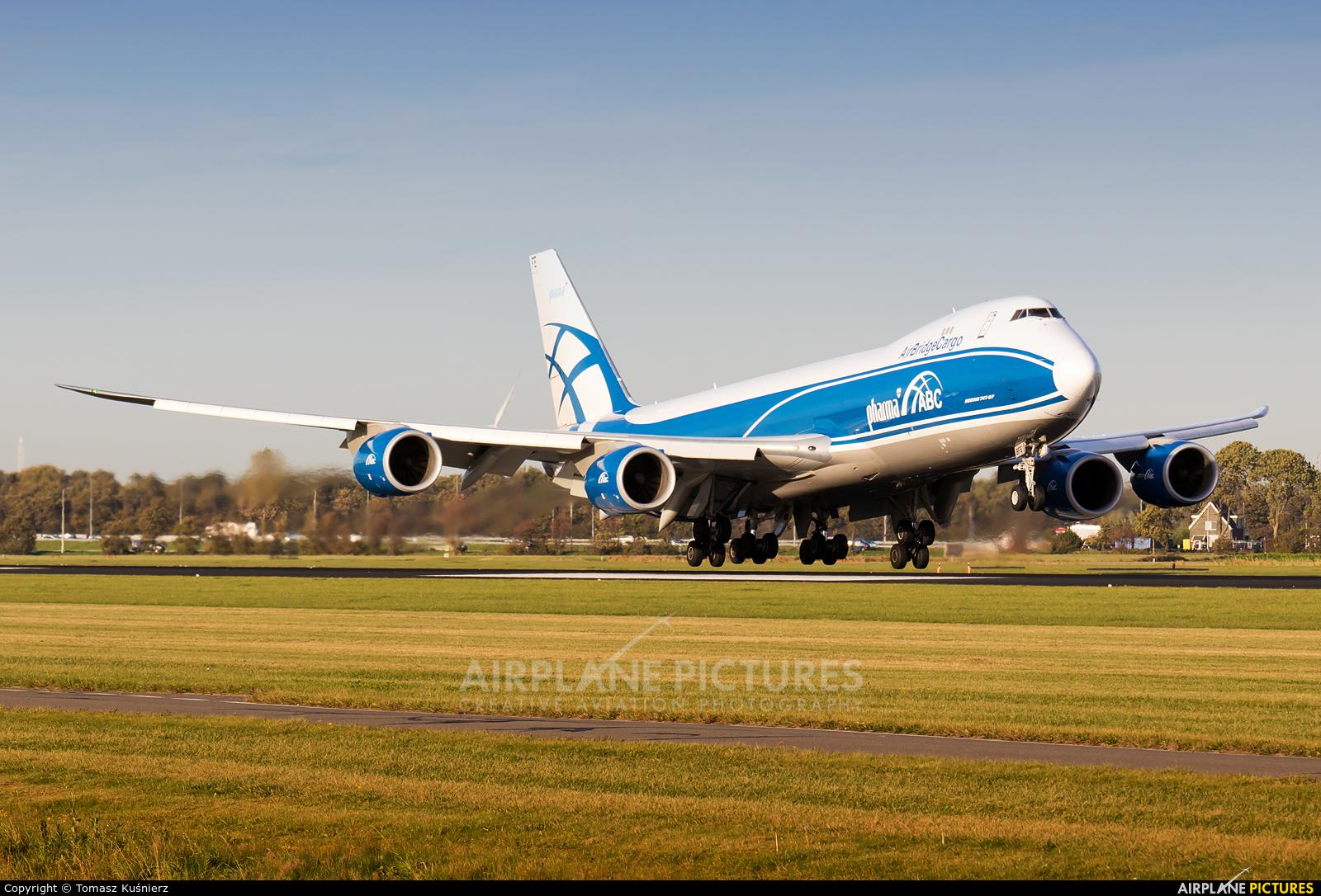 Air Bridge Cargo VQ-BFE aircraft at Amsterdam - Schiphol