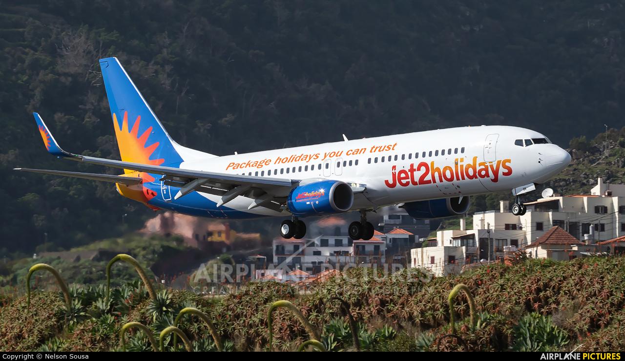 Jet2 G-JZBR aircraft at Madeira