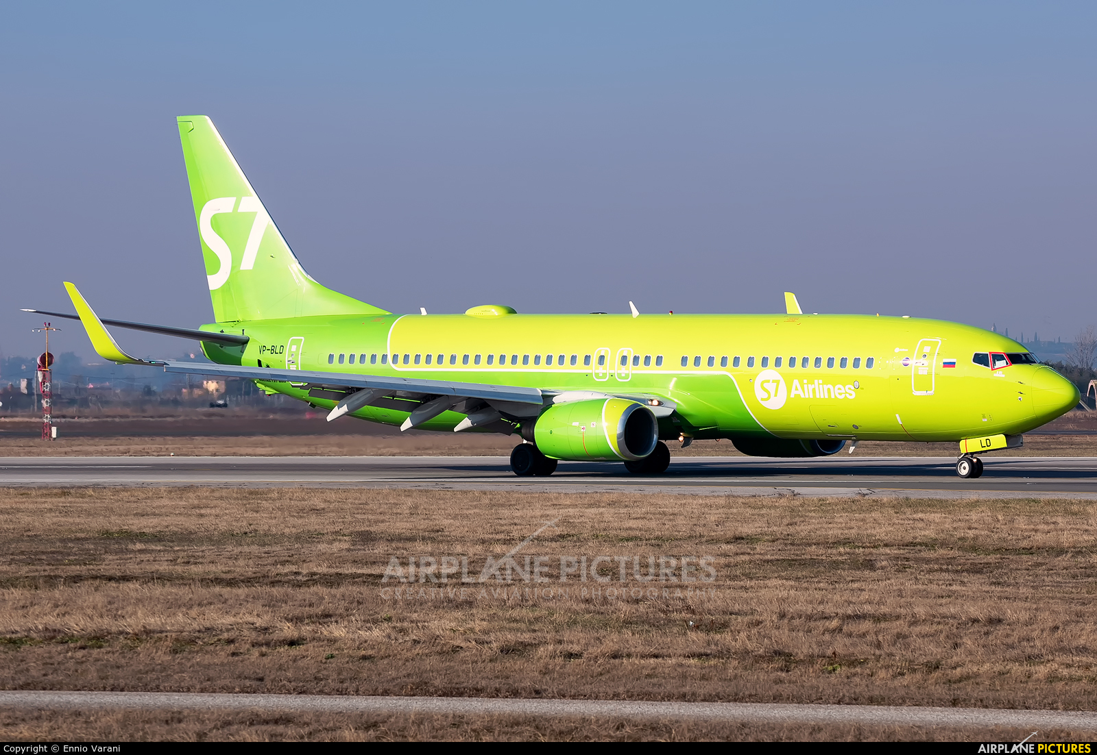 S7 Airlines VP-BLD aircraft at Verona - Villafranca