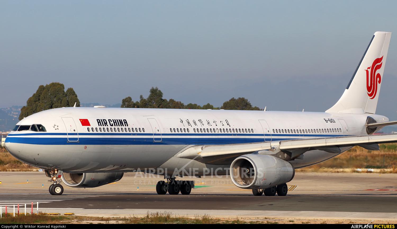 Air China B-6101 aircraft at Barcelona - El Prat