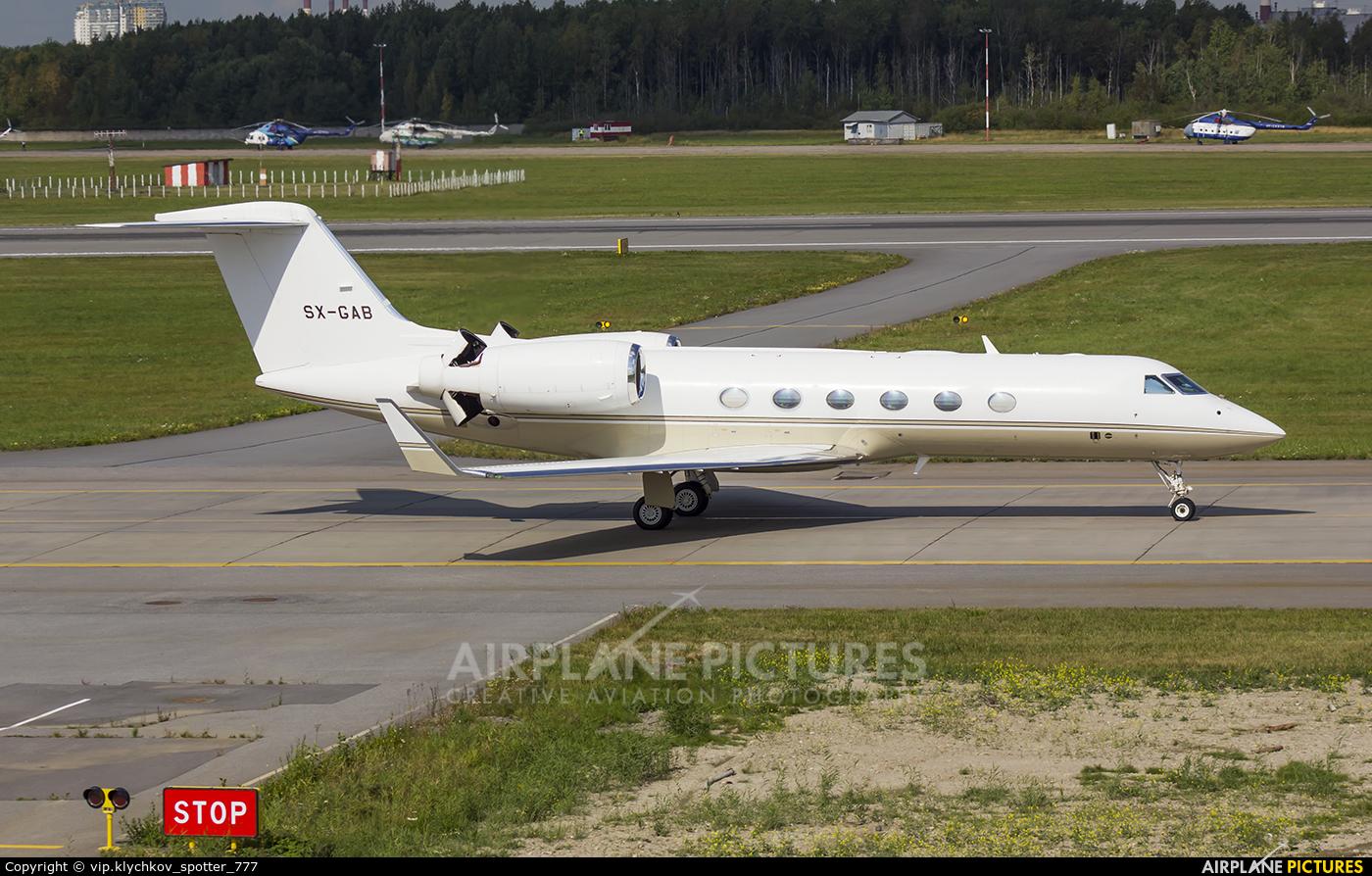 Gainjet SX-GAB aircraft at St. Petersburg - Pulkovo