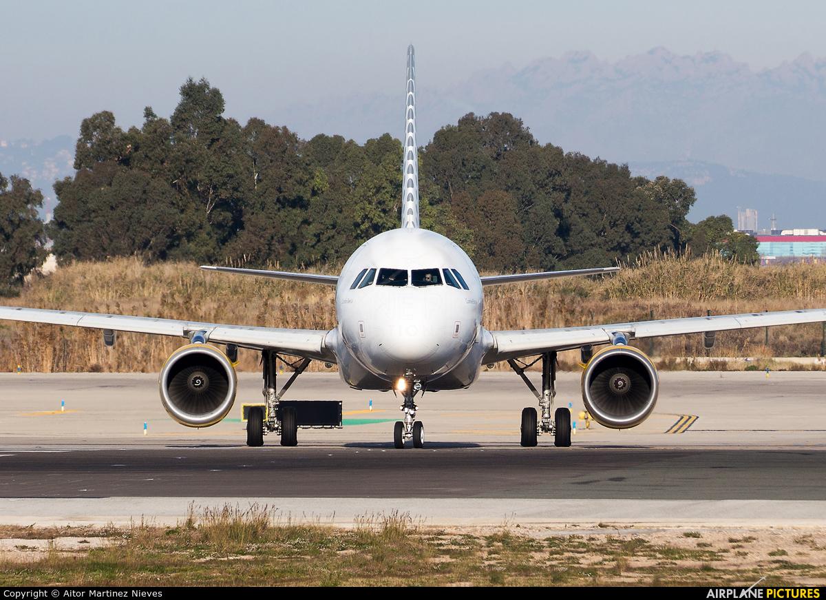 Vueling Airlines EC-JSY aircraft at Barcelona - El Prat