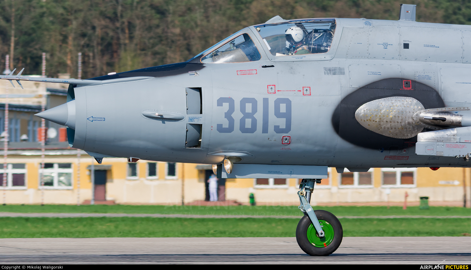 Poland - Air Force 3819 aircraft at Świdwin
