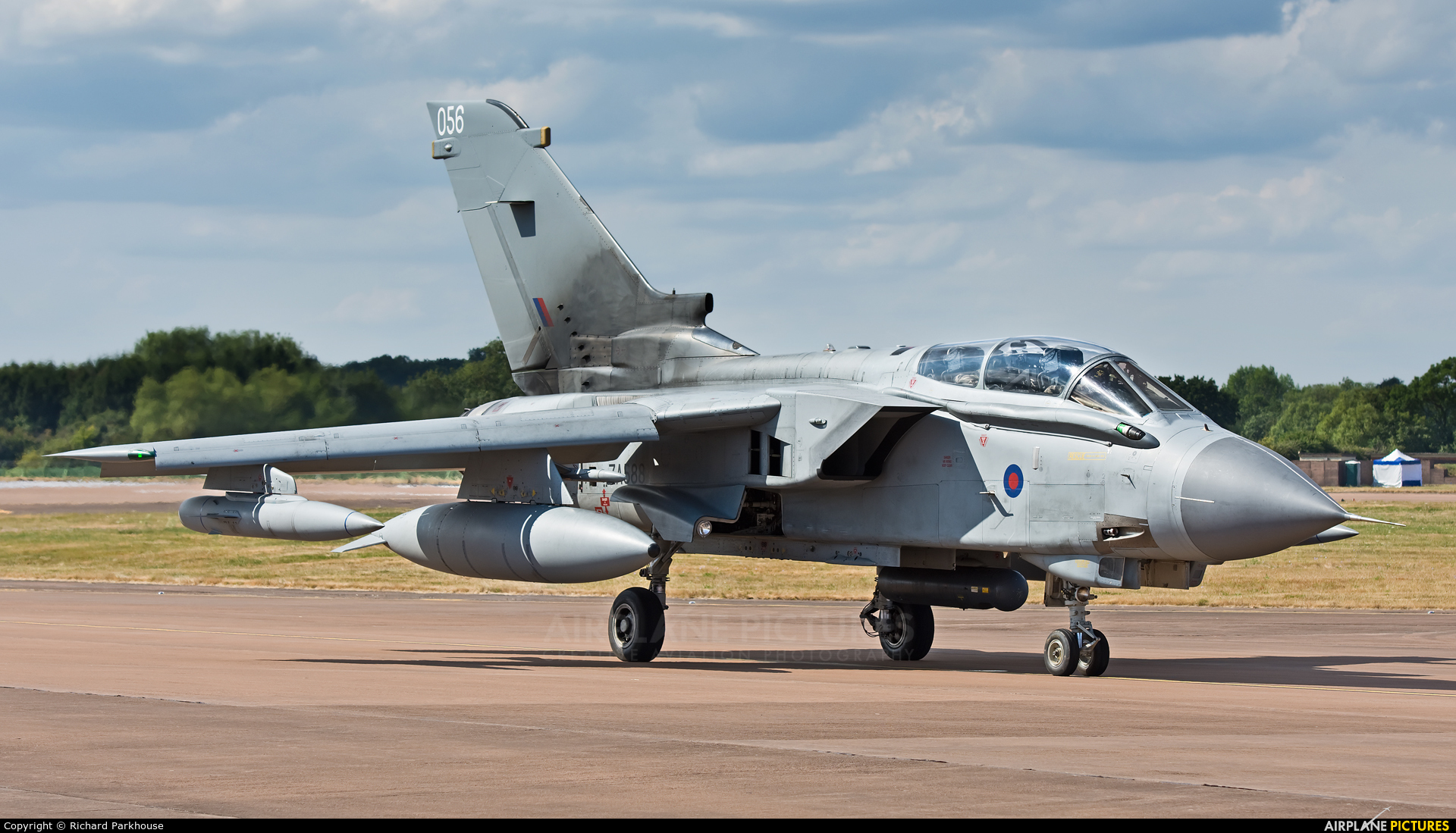 Royal Air Force ZA588 aircraft at Fairford