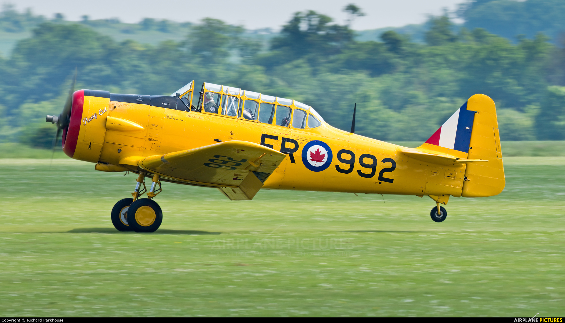 Private G-BDAM aircraft at Duxford