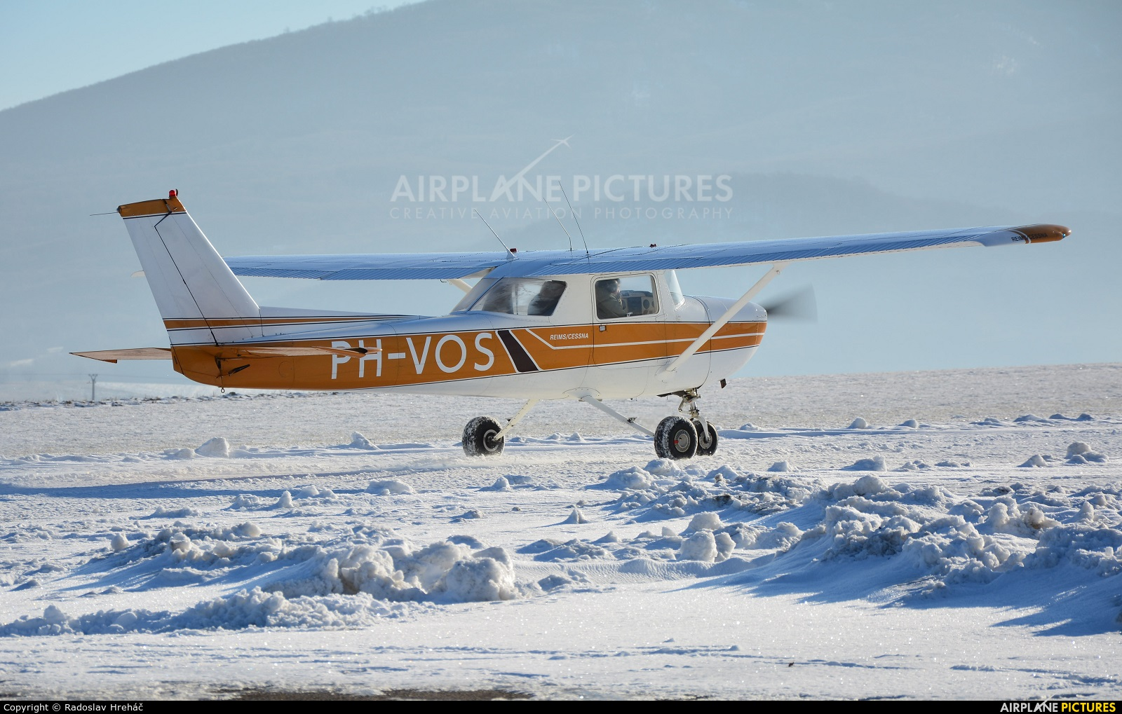 Private PH-VOS aircraft at Bidovce