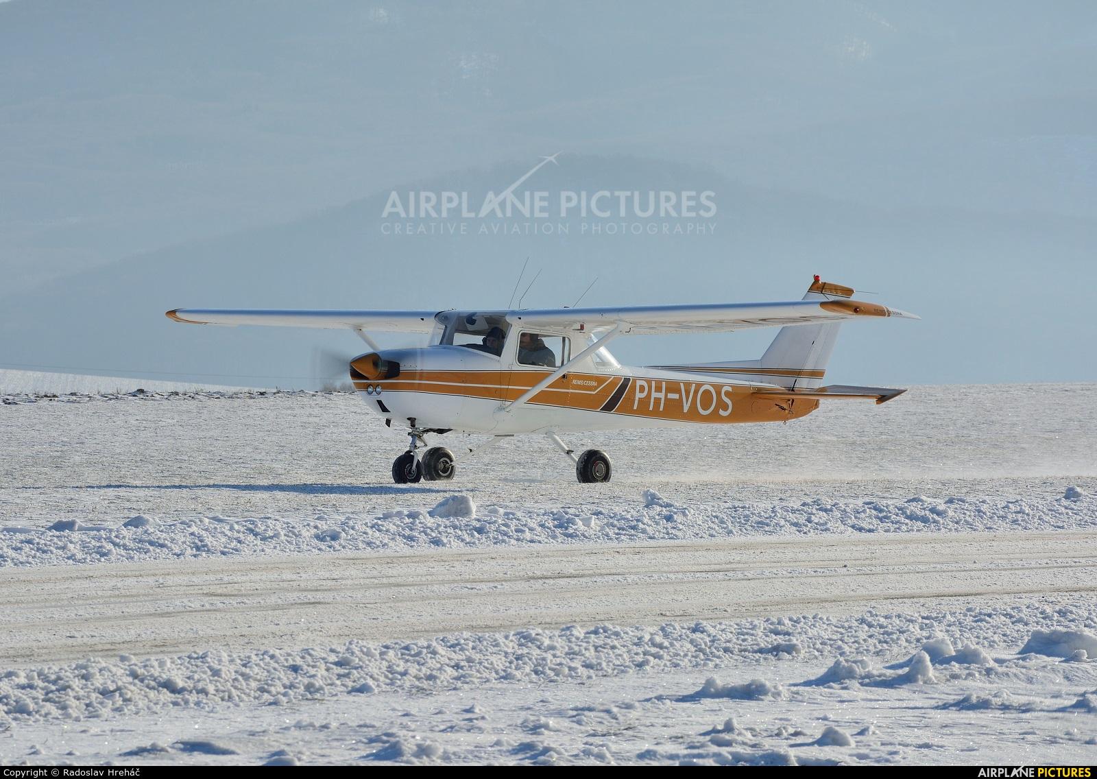 Private PH-VOS aircraft at Bidovce