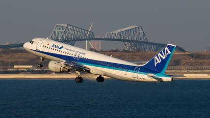 JA8400 - ANA - All Nippon Airways Airbus A320
