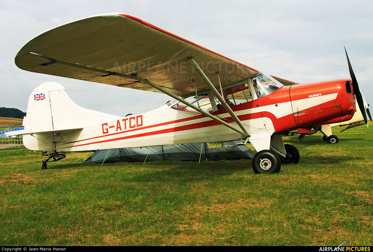 Private G-ATCD aircraft at Diest Schaffen