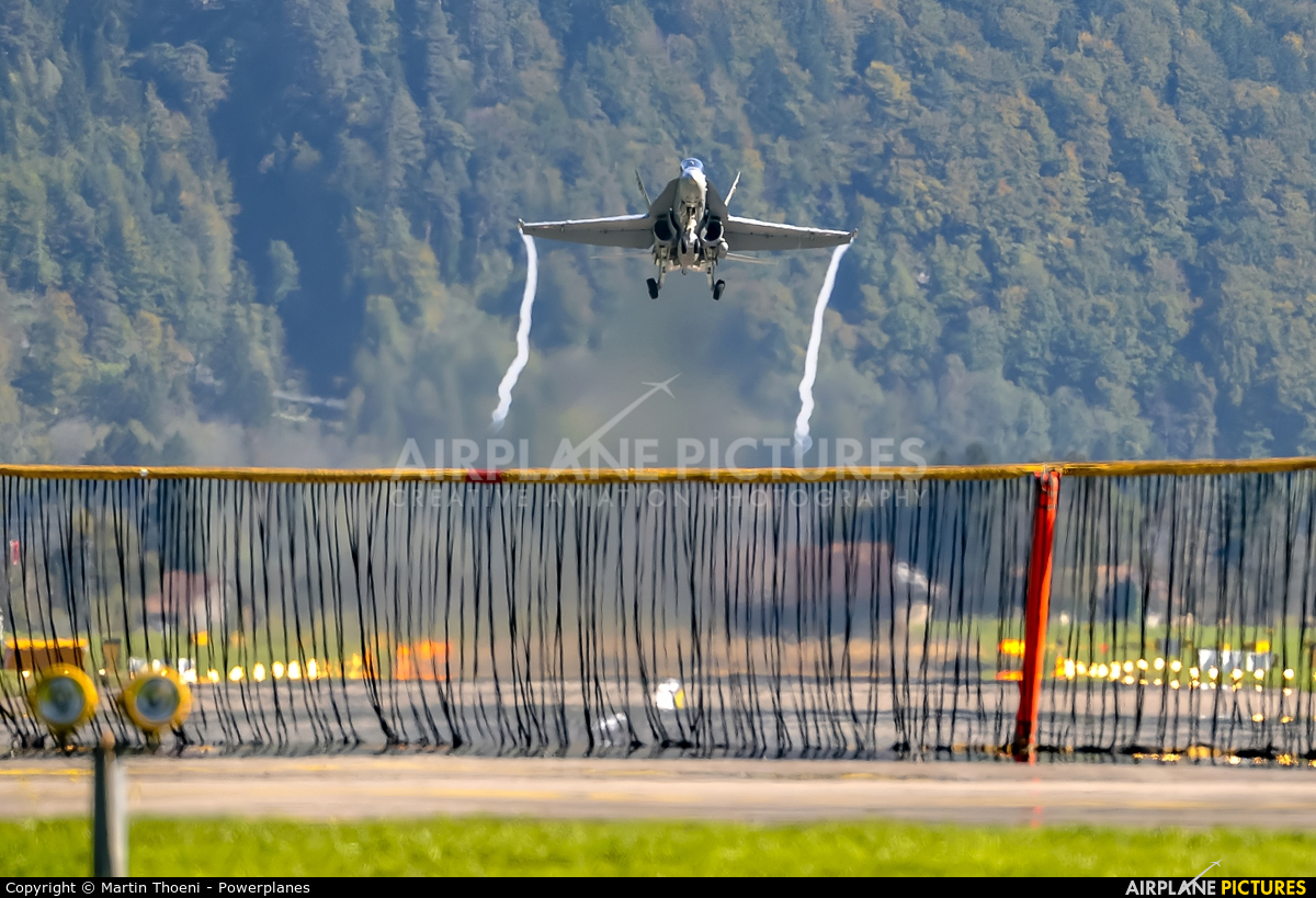 Switzerland - Air Force J-50** aircraft at Meiringen