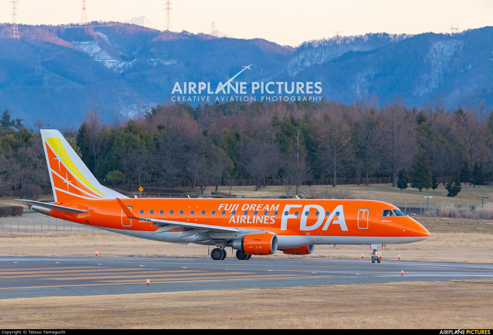 Fuji Dream Airlines JA05FJ aircraft at Shinshu - Matsumoto