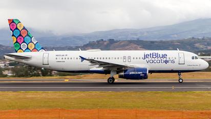 N603JB - JetBlue Airways Airbus A320