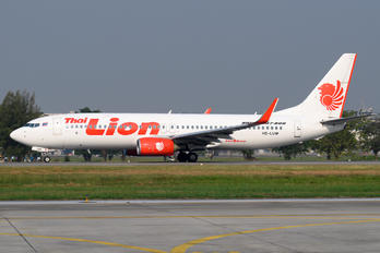 HS-LUW - Thai Lion Air Boeing 737-8GP