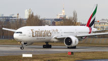 A6-EGP - Emirates Airlines Boeing 777-300ER aircraft