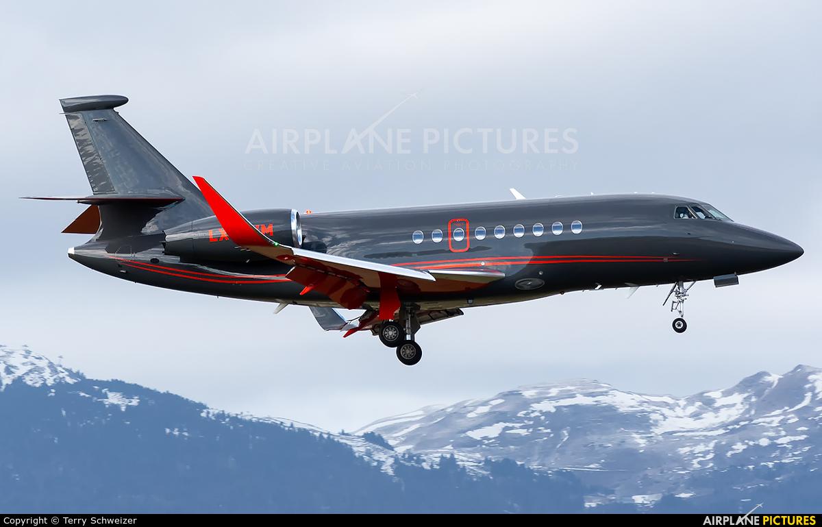 Global Jet Luxembourg LX-EVM aircraft at Geneva Intl