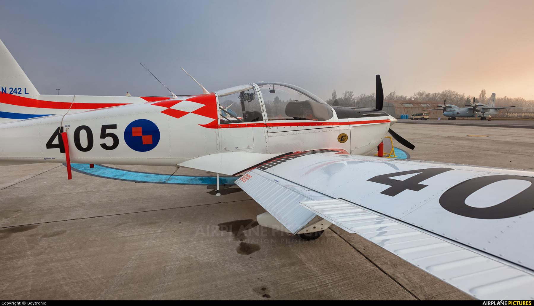 Croatia - Air Force 405 aircraft at Zagreb