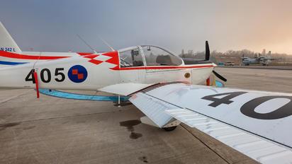 405 - Croatia - Air Force Zlín Aircraft Z-242