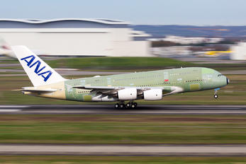 F-WWAF - ANA - All Nippon Airways Airbus A380