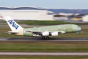 F-WWAF - ANA - All Nippon Airways Airbus A380 aircraft