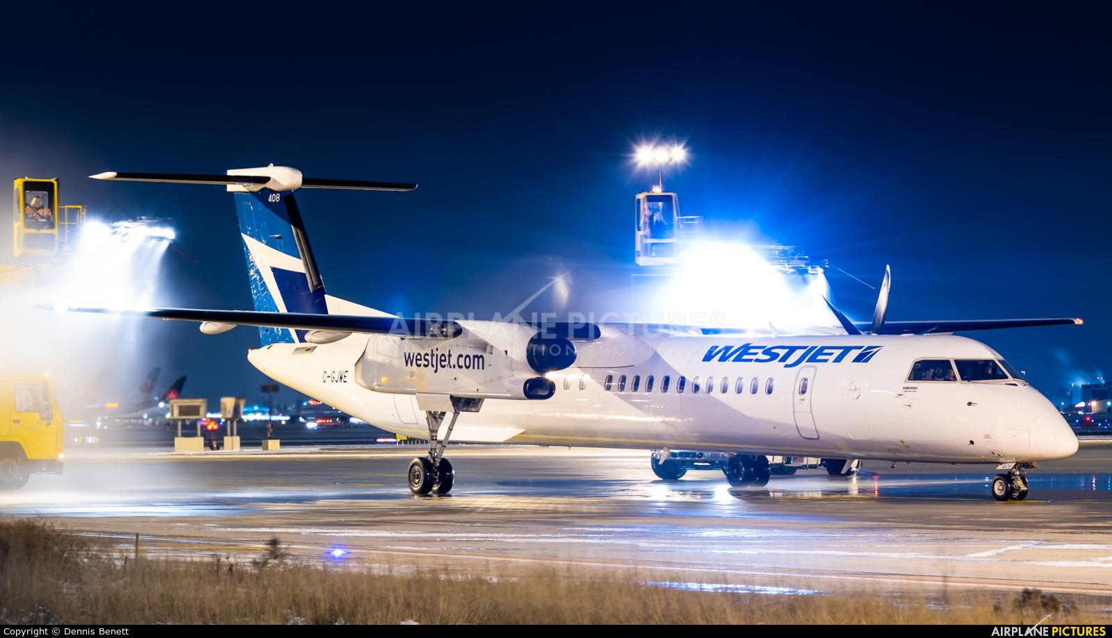 WestJet Encore C-GJWE aircraft at Toronto - Pearson Intl, ON
