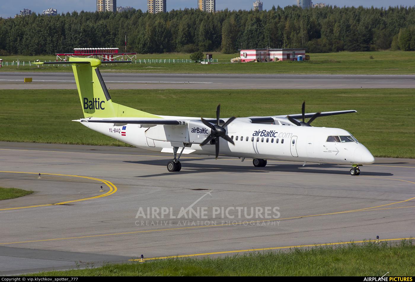 Air Baltic YL-BAQ aircraft at St. Petersburg - Pulkovo