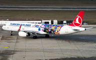 TC-JSU - Turkish Airlines Airbus A321 aircraft
