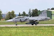 9820 - Czech - Air Force SAAB JAS 39D Gripen aircraft