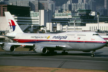 9M-MHM - Malaysia Airlines Boeing 747-400