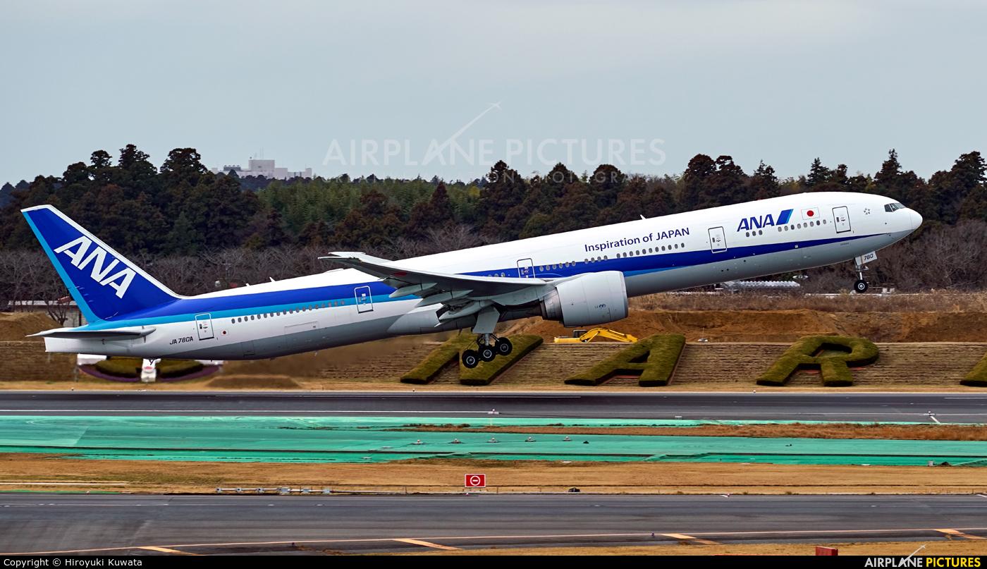 ANA - All Nippon Airways JA780A aircraft at Tokyo - Narita Intl