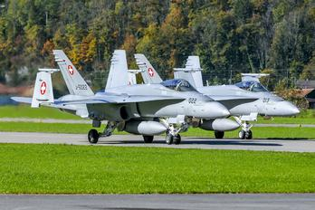 J-5022 - Switzerland - Air Force McDonnell Douglas F/A-18C Hornet