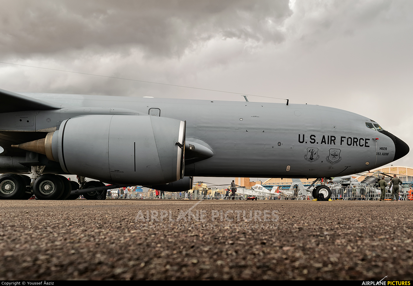 USA - Air Force 64-14828 aircraft at Marrakech - Menara