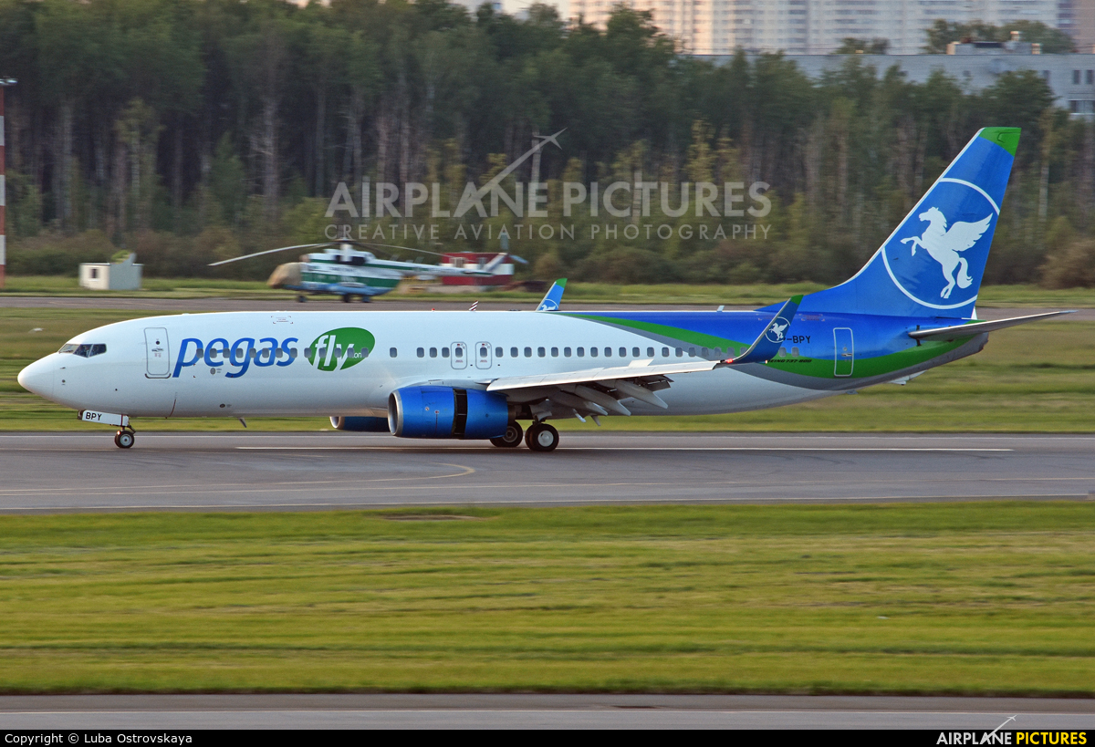 Pegas VP-BPY aircraft at St. Petersburg - Pulkovo