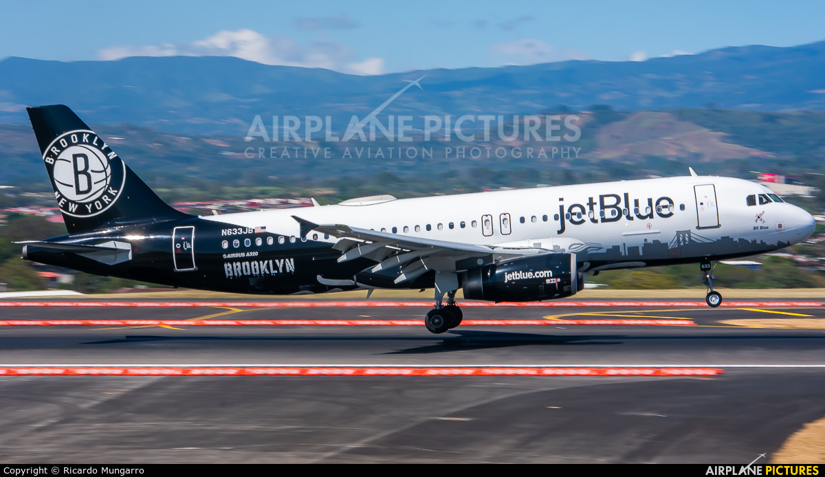 JetBlue Airways N633JB aircraft at San Jose - Juan Santamaría Intl