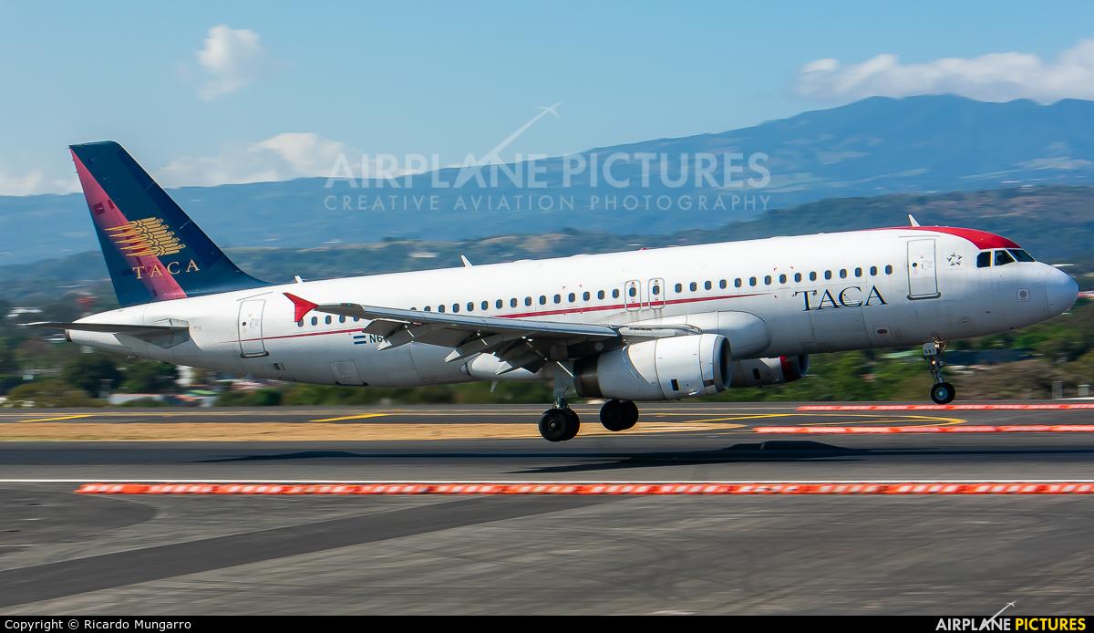 TACA N687TA aircraft at San Jose - Juan Santamaría Intl