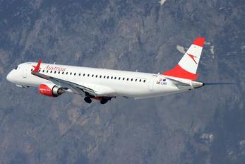 OE-LWI - Austrian Airlines/Arrows/Tyrolean Embraer ERJ-195 (190-200)