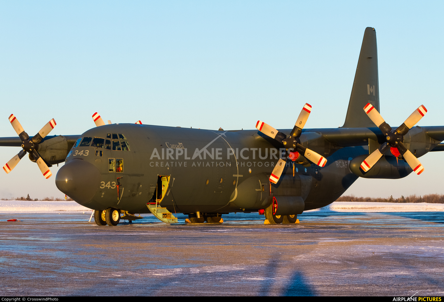Canada - Air Force 130343 aircraft at greater Moncton International