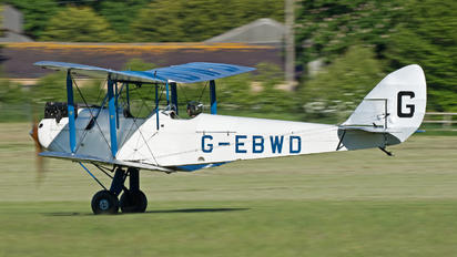 G-EBWD - The Shuttleworth Collection de Havilland DH. 60 Moth