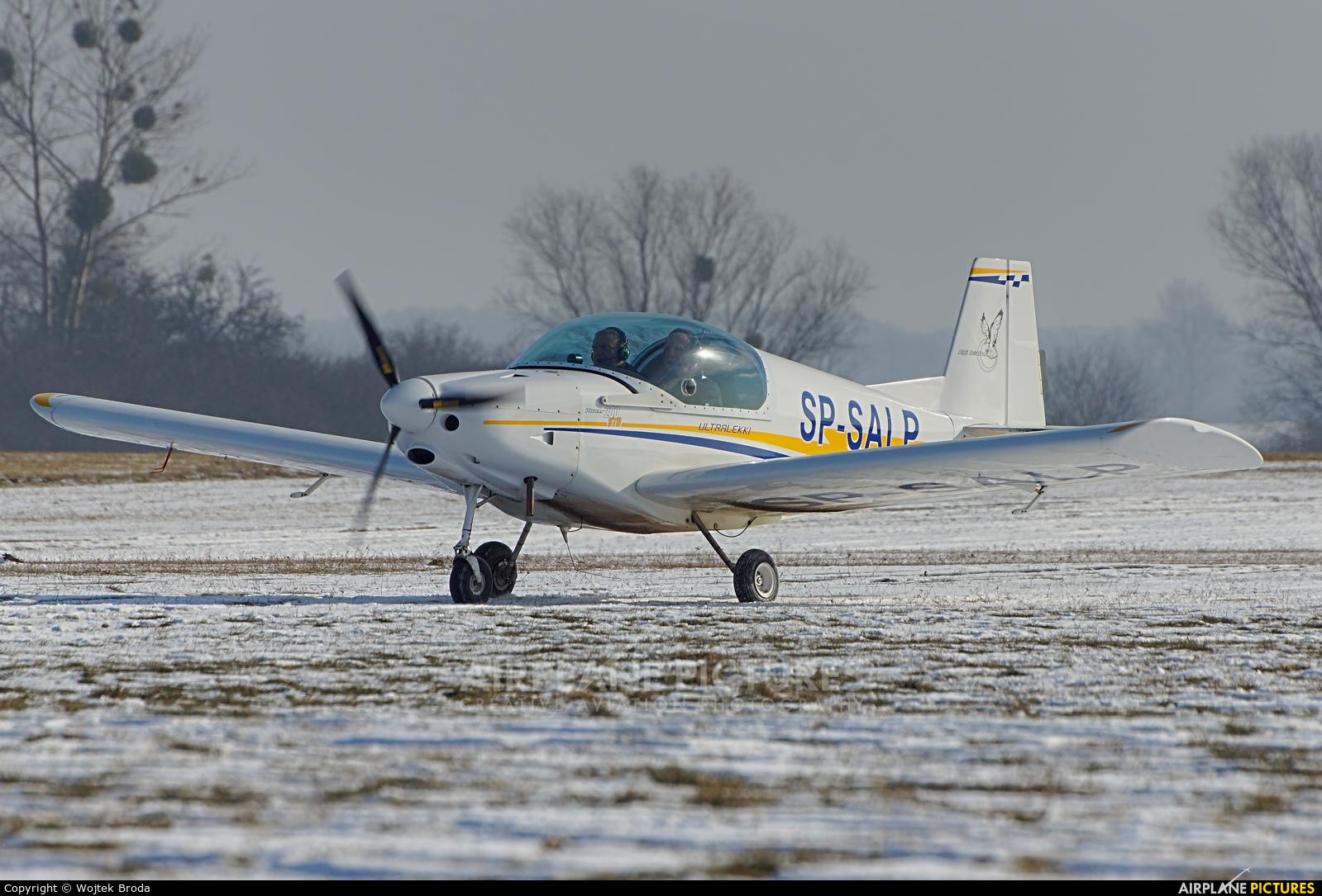 Private SP-SALP aircraft at Wrocław - Szymanów