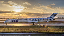 ES-ACK - LOT - Polish Airlines Canadair CL-600 CRJ-900 aircraft