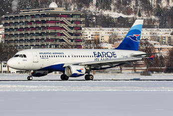 OY-RCG - Atlantic Airways Airbus A319