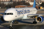 G-TCBA - Thomas Cook Boeing 757-200 aircraft