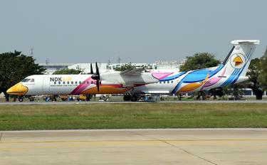 HS-DQC - Nok Air de Havilland Canada DHC-8-400Q / Bombardier Q400