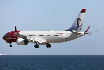 SE-RTC - Norwegian Air International Boeing 737-8 MAX