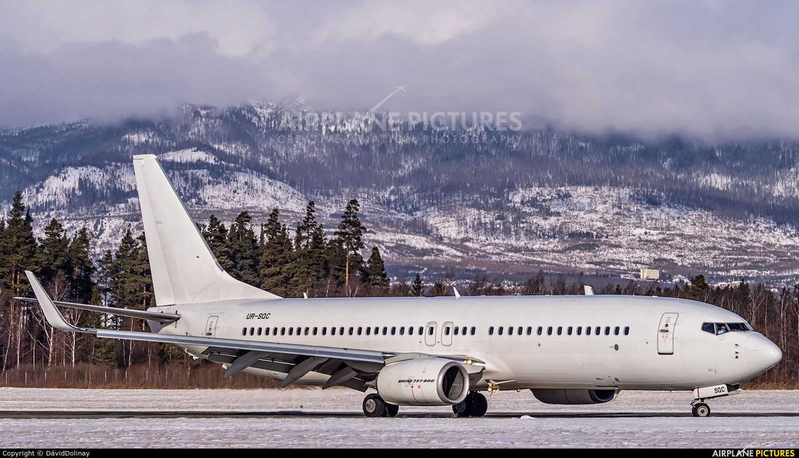 SkyUp Airlines UR-SQC aircraft at Poprad - Tatry