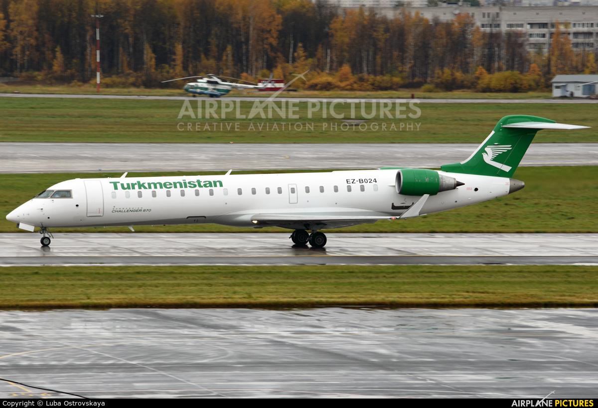 Turkmenistan - Government EZ-B024 aircraft at St. Petersburg - Pulkovo
