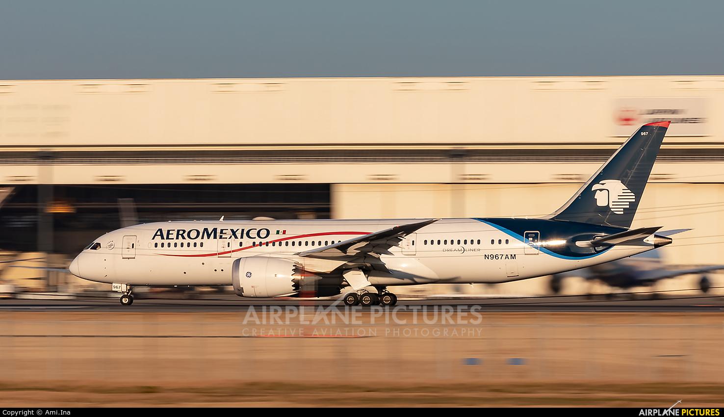 Aeromexico N967AM aircraft at Tokyo - Narita Intl