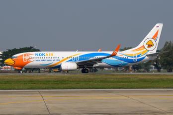 HS-DBW - Nok Air Boeing 737-800