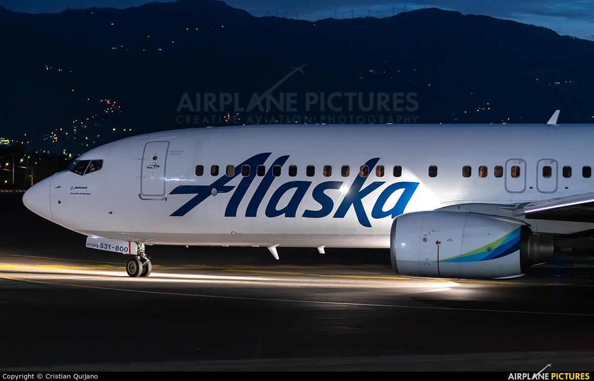 Alaska Airlines N531AS aircraft at San Jose - Juan Santamaría Intl