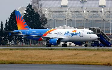N243NV - Allegiant Air Airbus A320