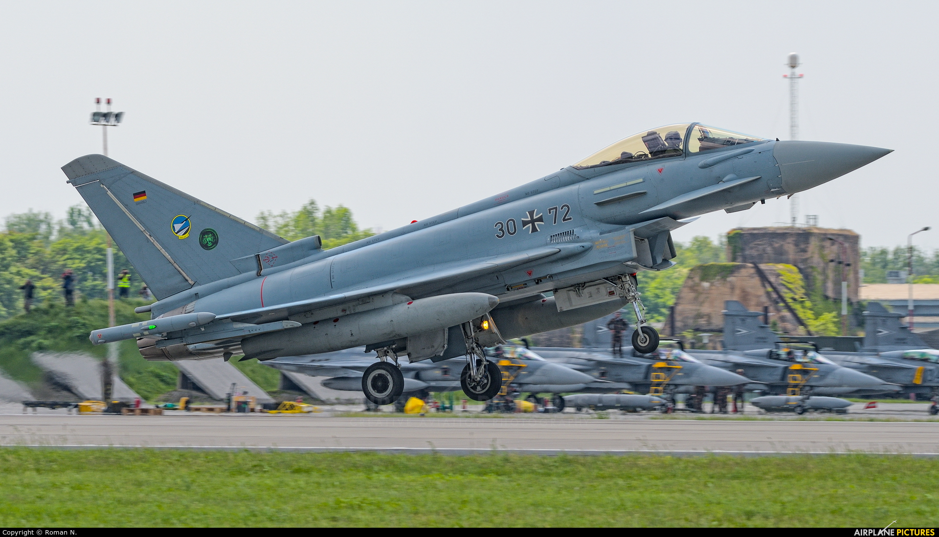 Germany - Air Force 30+72 aircraft at Poznań - Krzesiny